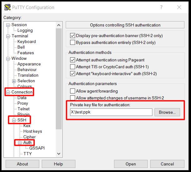 Jak zestawić tunel SSH - krok 2